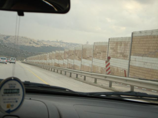 443 Separation barrier on the right.